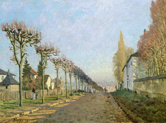 Rue de la Machine, Louveciennes, 1873