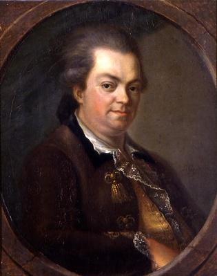 Portrait presumed to be Count Alessandro di Cagliostro