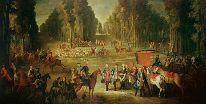 Meeting for the Puits-du-Roi Hunt at Compiegne