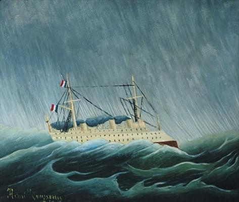 The storm-tossed vessel, c.1899
