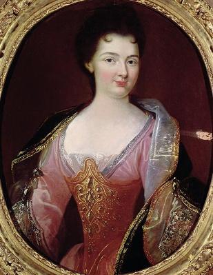 Portrait of Claudine Alexandrine Guerin de Tencin