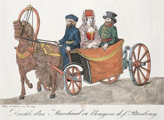Droshky of a St. Petersburg Merchant