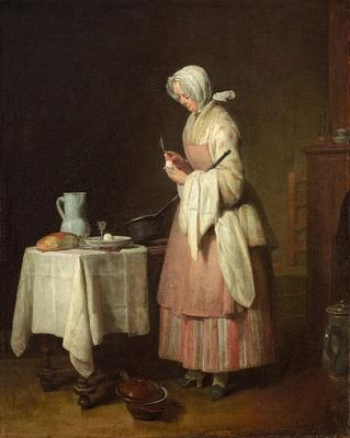 The Attentive Nurse, 1747