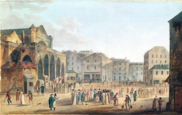 View of Saint-Germain-l'Auxerrois, c.1802