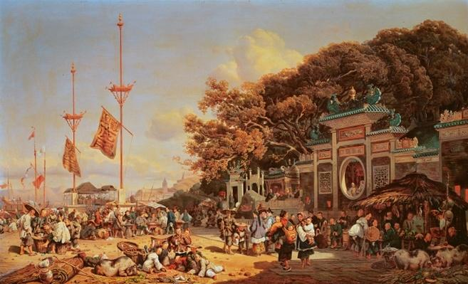 A Market in Macao