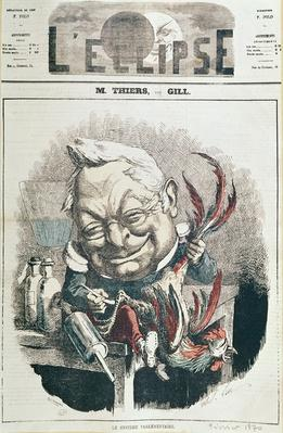 Caricature of Adolphe Thiers