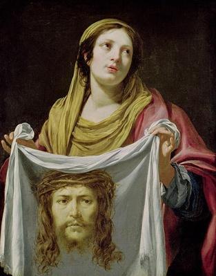 St. Veronica Holding the Holy Shroud