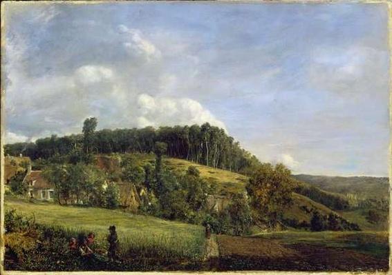 Forest Glade near a Village, 1833