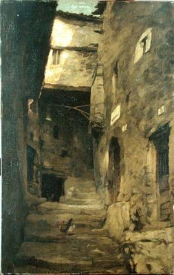 Street in Olevano