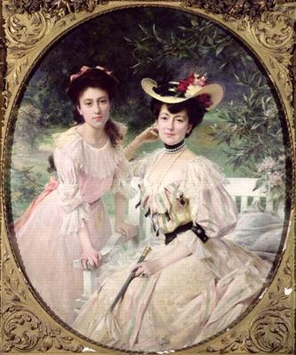Madame Collas and her Daughter, Giselle, 1903