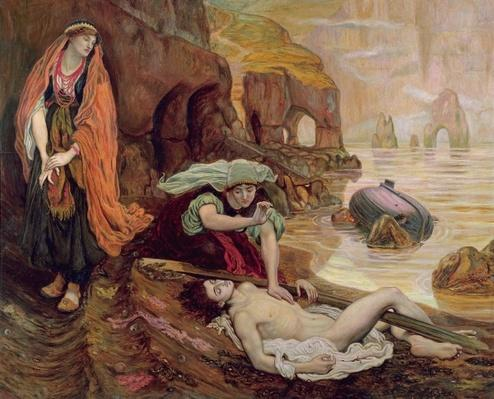 The Finding of Don Juan by Haidee, 1878
