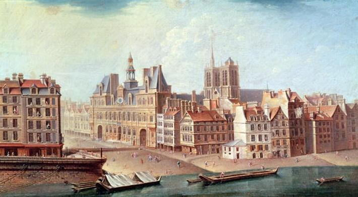 Place de Greve in 1750