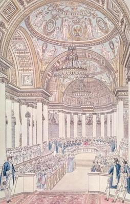 Imperial Banquet in the Grand Salon of the Tuileries Palace on the Occasion of the Marriage of Napoleon I