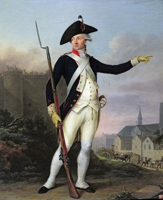 Citizen Nau-Deville in the Uniform of the National Guard, 15th July 1789, 1790