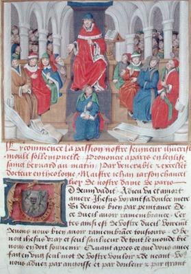Ms 230 fol.1 Jean de Gerson