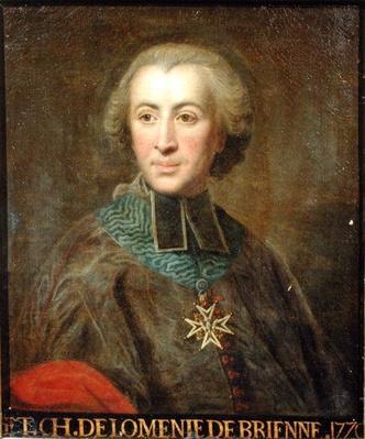 Cardinal Etienne-Charles de Lomenie de Brienne