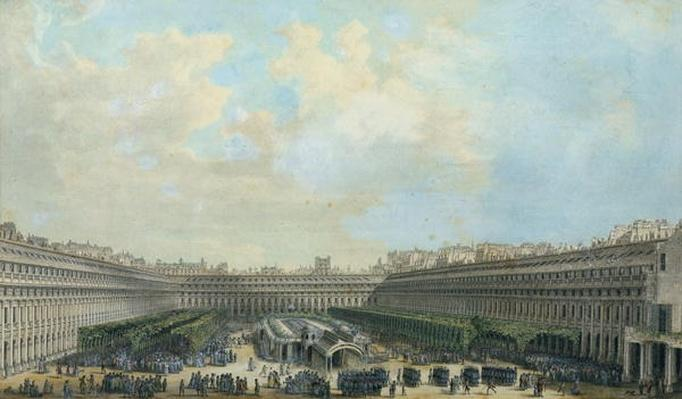The Garden of the Palais Royal, 1791