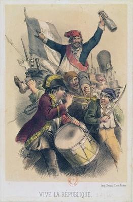 Vive la Republique, 1848