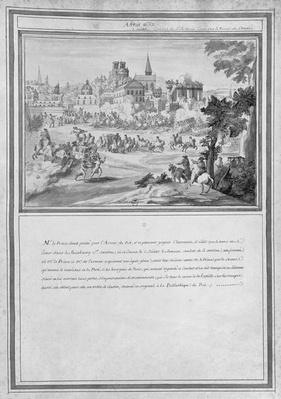 Battle at Porte Sainte-Antoine, 2nd July 1652