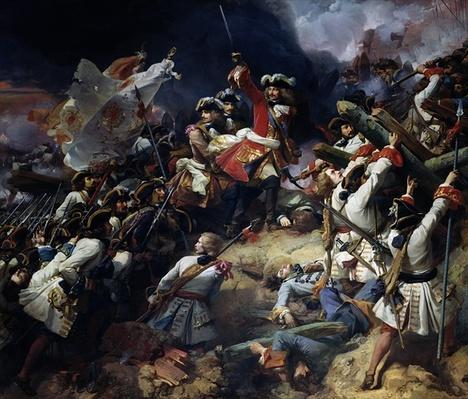 Battle of Denain, 24th July 1712, 1839