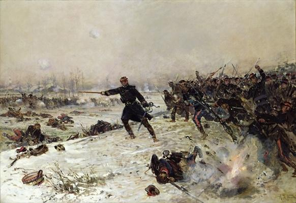 Episode of the War of 1870, Battle of Chenebier, 16th January 1871, 1882