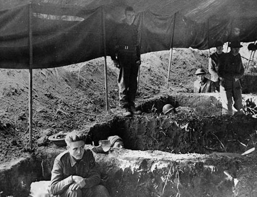 Dugout Beds | Ken Burns: The War