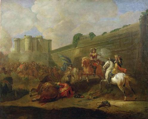 Episode of the Fronde at the Faubourg Saint-Antoine by the Walls of the Bastille, c.1648