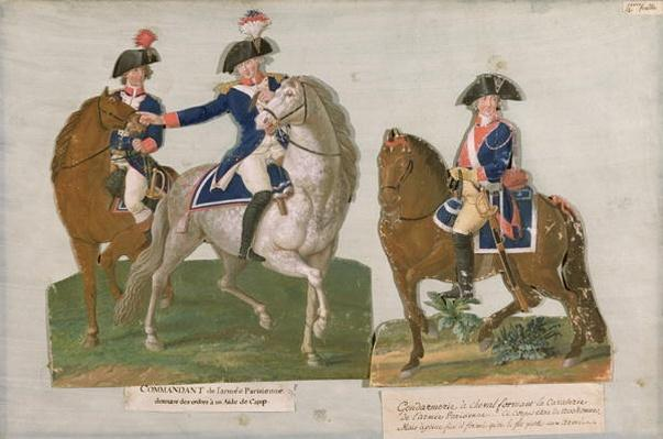 Army Commander and an Officer of the Mounted Police