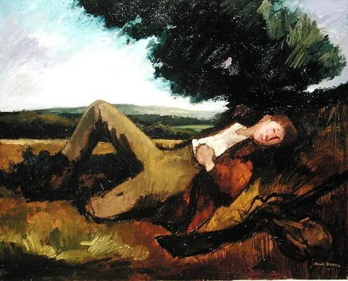 The Hunter's Rest or The Sleeping Hunter, 1929