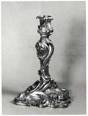 Model of a candlestick