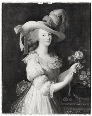 Copy of a Portrait of Marie-Antoinette