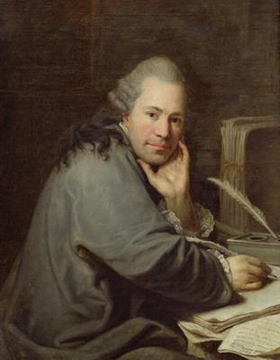 Portrait of a Writer, 1772