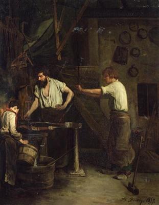 The Blacksmiths, Memory of Treport, 1857