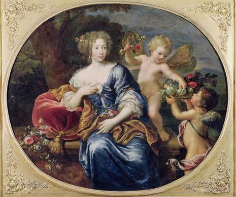 Portrait presumed to be Francoise-Athenais de Rochechouart de Mortemart