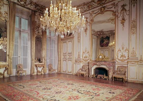 View of the interior of the Grand Salon on the ground floor, c.1722-33