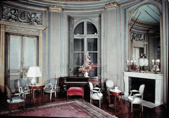 View of the Salon