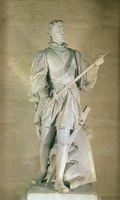 Statue of Pierre du Terrail