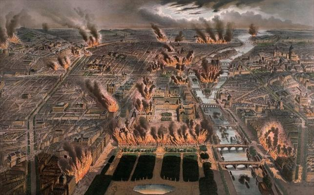 Fires in Paris, 24th-25th May 1871
