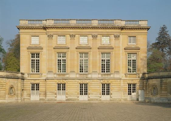 View of the Courtyard Facade of the Petit Trianon, built 1762-64