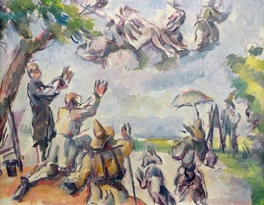 Apotheosis of Delacroix