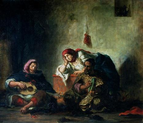 Jewish Musicians in Mogador, 1847