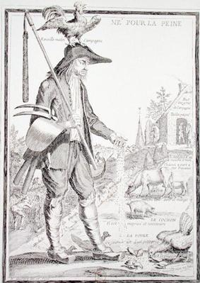 The Village Peasant, Born to Suffer, c.1780