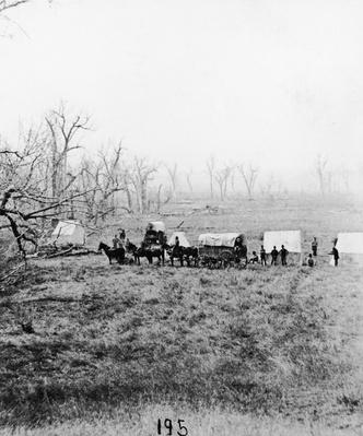 Gathering bodies at Little Big Horn site | The Wild West is Tamed (1870-1910) | U.S. History