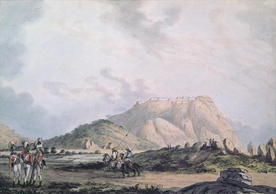 The Fort of Nandidong during the third Mysore War, c.1791