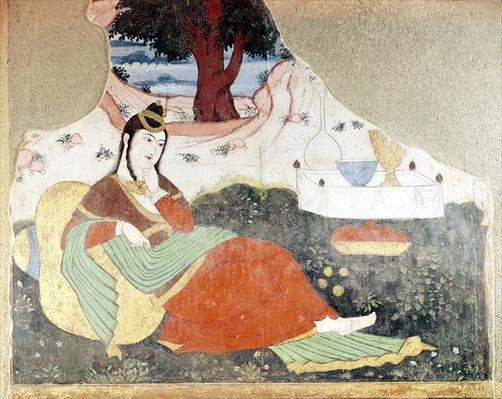 Woman in the Garden of Shah Abbas I