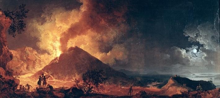 The Eruption of Mount Vesuvius in 1771