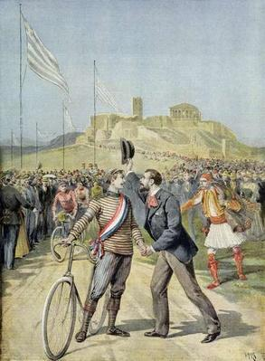 The Olympic Games in Athens, from 'Le Petit Journal', 26th April 1896