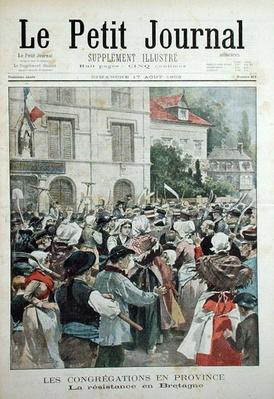 The Resistance in Brittany, from 'Le Petit Journal', 17th August 1902