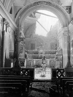A Soldier inside a Bombed Church | Ken Burns & Lynn Novick: The War