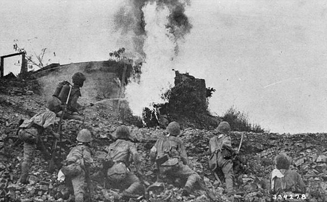 Japanese Attack on Pillbox | Ken Burns: The War